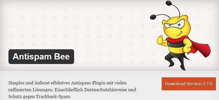Blog die besten Plugins für WordPress von A bis Z kostenlos 01 Antispam Bee