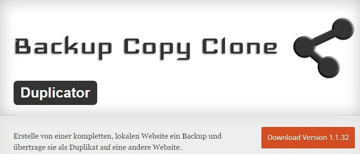 Blog die besten Plugins für WordPress von A bis Z kostenlos 07 Duplicator