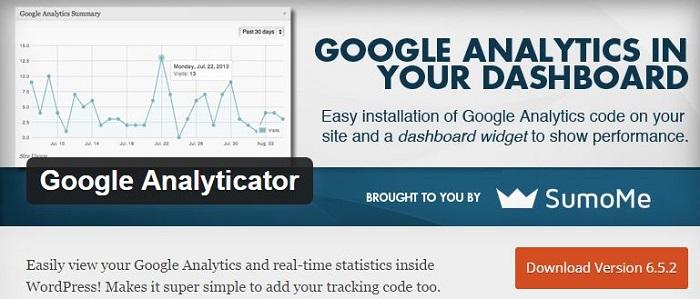 Blog die besten Plugins für WordPress von A bis Z kostenlos 08 Google Analyticator