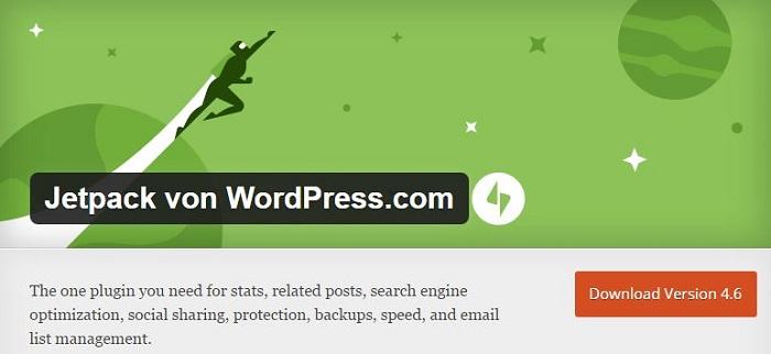Blog die besten Plugins für WordPress von A bis Z kostenlos 10 Jetpack von WordPress.com