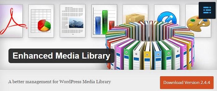 Blog die besten Plugins für WordPress von A bis Z kostenlos 12 Enhanced Media Library