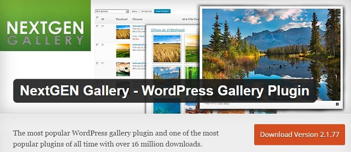 Blog die besten Plugins für WordPress von A bis Z kostenlos 14 Nextgen Gallery WordPress Gallery Plugin