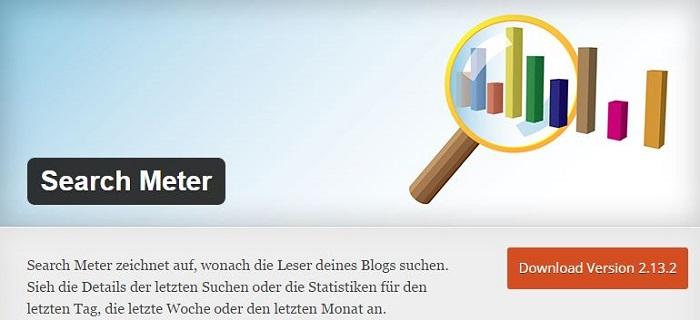 Blog die besten Plugins für WordPress von A bis Z kostenlos 18 Search Meter