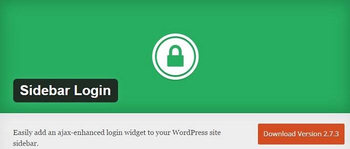 Blog die besten Plugins für WordPress von A bis Z kostenlos 19 Sidebar Login