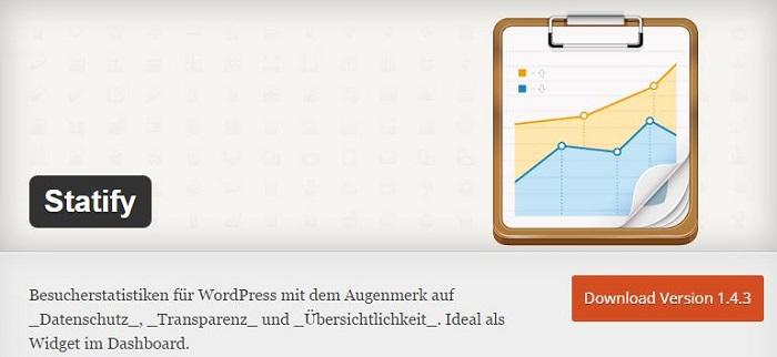 Blog die besten Plugins für WordPress von A bis Z kostenlos 20 Statifv