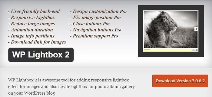 Blog die besten Plugins für WordPress von A bis Z kostenlos 27 WP Lightbox 2