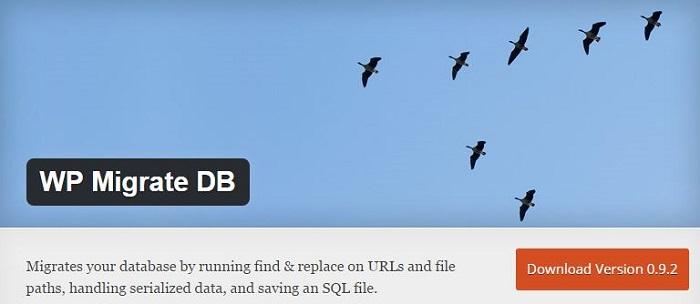 Blog die besten Plugins für WordPress von A bis Z kostenlos 28 WP Migrate DB