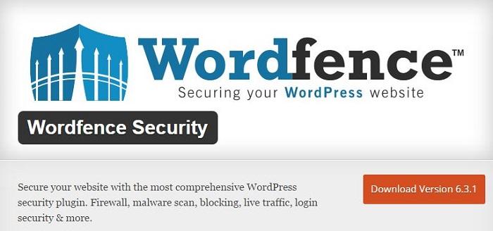 Blog kostenlose Backup und Sicherheit Plugins für WordPress 03 Wordfence Security