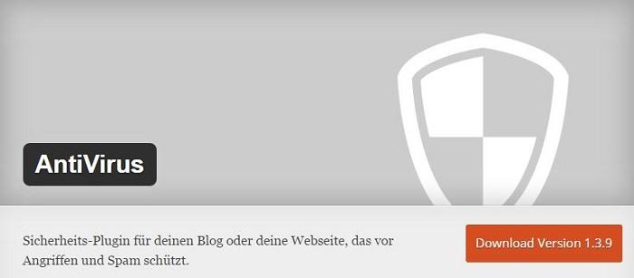 Blog kostenlose Backup und Sicherheit Plugins für WordPress 05 Antivirus