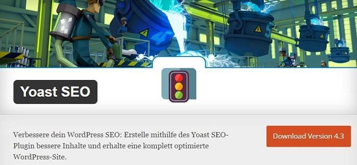 Blog kostenlose Cache Image Minify Social-Media und SEO Plugins für WordPress 02 Yoast SEO