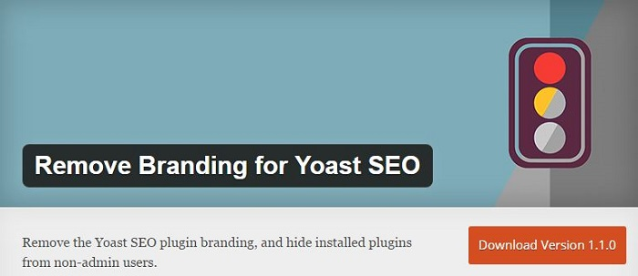 Blog kostenlose Cache Image Minify Social-Media und SEO Plugins für WordPress 03 Remove Branding for Yoast SEO