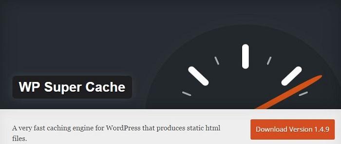 Blog kostenlose Cache Image Minify Social-Media und SEO Plugins für WordPress 06 WP Super Cache