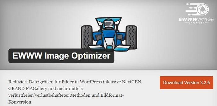 Blog kostenlose Cache Image Minify Social-Media und SEO Plugins für WordPress 11 EWWW Image Optimizer