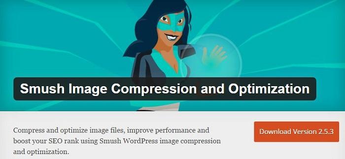 Blog kostenlose Cache Image Minify Social-Media und SEO Plugins für WordPress 13 Smush Image Compression and Optimization