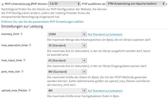 Blog PHP Version der Webseite ermitteln und auswählen 02