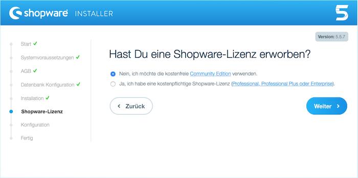Blog Shopware 5 auf dem eigenen Webhostingpaket installieren 04