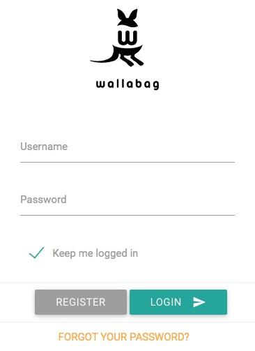 Blog wallabag installieren und update richtig durchführen 02