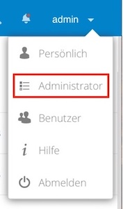 Blog In Nextcloud und ownCloud Federated Cloud Sharing einrichten 01